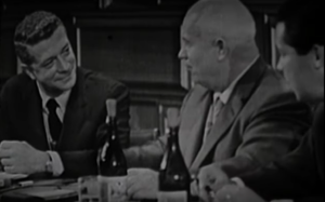 David Susskind and Nikita Khrushchev (1962)